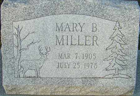 MILLER, MARY B - Franklin County, Ohio | MARY B MILLER - Ohio Gravestone Photos