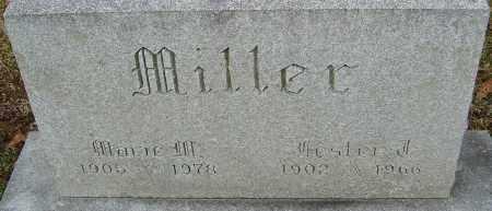 MILLER, MARIE M - Franklin County, Ohio | MARIE M MILLER - Ohio Gravestone Photos