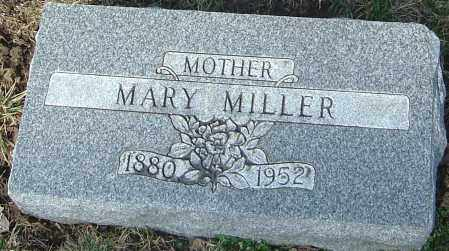 MILLER, MARY - Franklin County, Ohio | MARY MILLER - Ohio Gravestone Photos