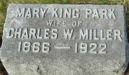 MILLER, MARY KING - Franklin County, Ohio | MARY KING MILLER - Ohio Gravestone Photos