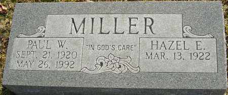 MILLER, PAUL W - Franklin County, Ohio | PAUL W MILLER - Ohio Gravestone Photos
