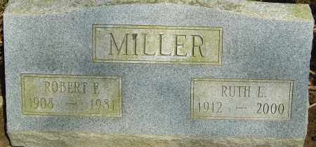 MILLER, RUTH L - Franklin County, Ohio | RUTH L MILLER - Ohio Gravestone Photos
