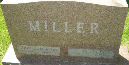 MILLER, THOMAS EMERSON - Franklin County, Ohio | THOMAS EMERSON MILLER - Ohio Gravestone Photos