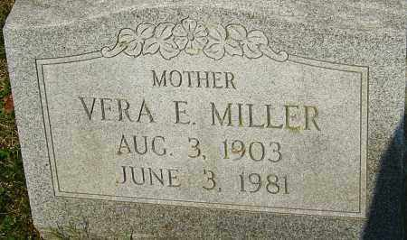 MILLER, VERA E - Franklin County, Ohio | VERA E MILLER - Ohio Gravestone Photos