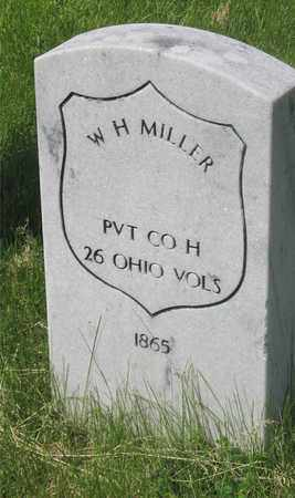 MILLER, W. H. - Franklin County, Ohio | W. H. MILLER - Ohio Gravestone Photos