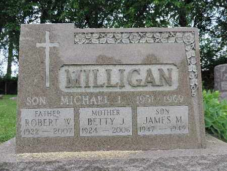 MILLIGAN, MICHAEL J - Franklin County, Ohio | MICHAEL J MILLIGAN - Ohio Gravestone Photos