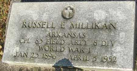MILLIKAN, RUSSELL E - Franklin County, Ohio | RUSSELL E MILLIKAN - Ohio Gravestone Photos