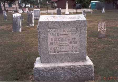 MILLISER, KATE - Franklin County, Ohio | KATE MILLISER - Ohio Gravestone Photos
