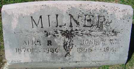 KOONS MILNER, ALICE R - Franklin County, Ohio | ALICE R KOONS MILNER - Ohio Gravestone Photos