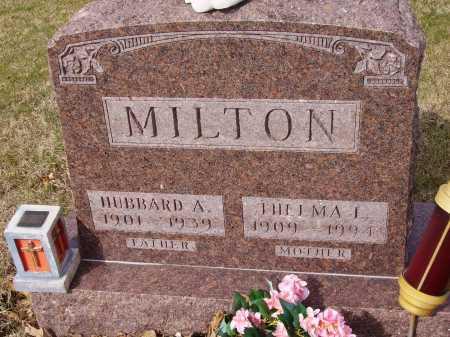 MILTON, HUBBARD A. - Franklin County, Ohio | HUBBARD A. MILTON - Ohio Gravestone Photos