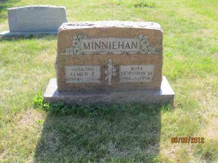 MINNIEHAN, ELMER EDWARD - Franklin County, Ohio | ELMER EDWARD MINNIEHAN - Ohio Gravestone Photos
