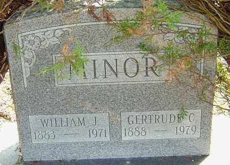 MINOR, WILLIAM J - Franklin County, Ohio | WILLIAM J MINOR - Ohio Gravestone Photos