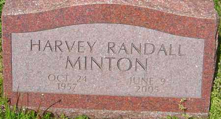 MINTON, HARVEY RANDALL - Franklin County, Ohio | HARVEY RANDALL MINTON - Ohio Gravestone Photos