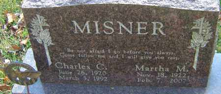 MISNER, MARTHA M - Franklin County, Ohio | MARTHA M MISNER - Ohio Gravestone Photos