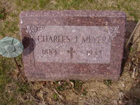 MEYER, CHARLES J. - Franklin County, Ohio | CHARLES J. MEYER - Ohio Gravestone Photos