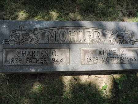 MOHLER, CHARLES O. - Franklin County, Ohio | CHARLES O. MOHLER - Ohio Gravestone Photos