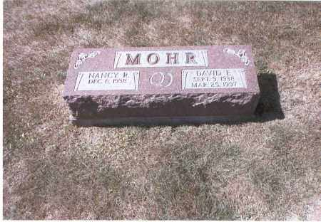 MOHR, DAVID E. - Franklin County, Ohio | DAVID E. MOHR - Ohio Gravestone Photos