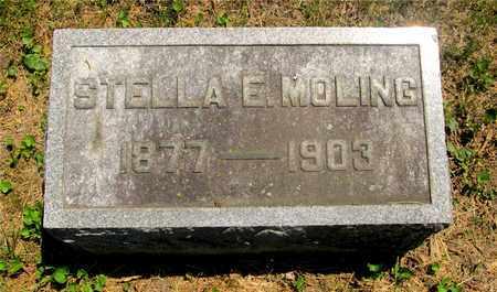MOLING, STELLA E. - Franklin County, Ohio | STELLA E. MOLING - Ohio Gravestone Photos
