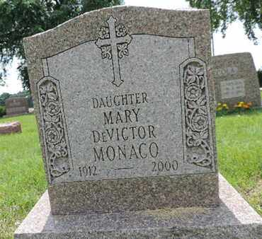 MONACO, MARY - Franklin County, Ohio | MARY MONACO - Ohio Gravestone Photos