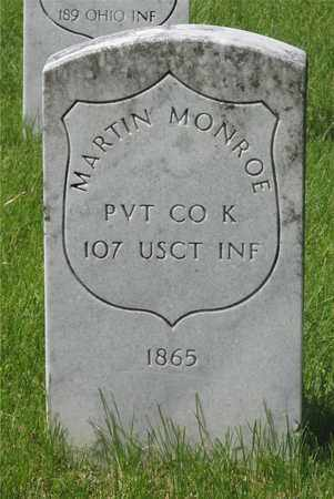 MONROE, MARTIN - Franklin County, Ohio | MARTIN MONROE - Ohio Gravestone Photos