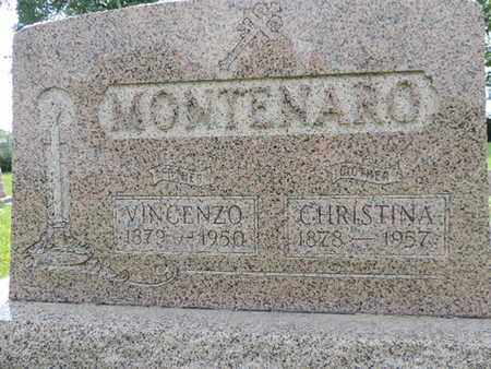 MONTENARO, VINCENZO - Franklin County, Ohio | VINCENZO MONTENARO - Ohio Gravestone Photos