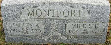 MONTFORT, STANLEY W - Franklin County, Ohio | STANLEY W MONTFORT - Ohio Gravestone Photos