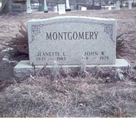MONTGOMERY, JEANETTE L. - Franklin County, Ohio | JEANETTE L. MONTGOMERY - Ohio Gravestone Photos