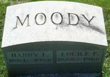 MOODY, HARRY L - Franklin County, Ohio | HARRY L MOODY - Ohio Gravestone Photos