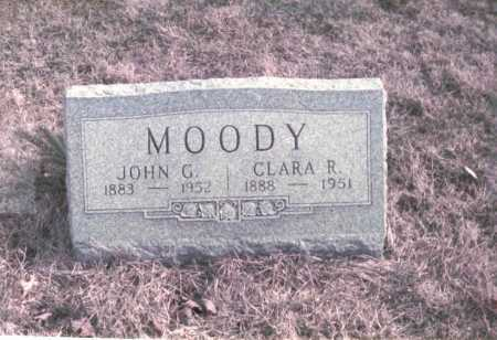 MOODY, JOHN G. - Franklin County, Ohio | JOHN G. MOODY - Ohio Gravestone Photos