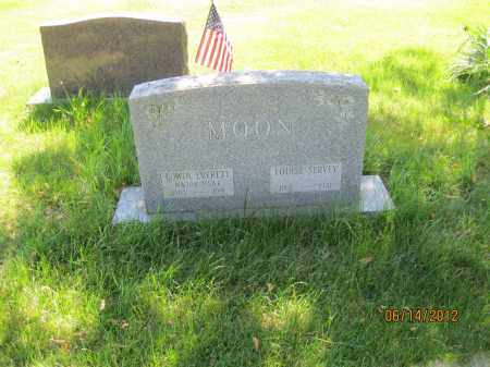 MOON, EDWIN EVERETT - Franklin County, Ohio | EDWIN EVERETT MOON - Ohio Gravestone Photos