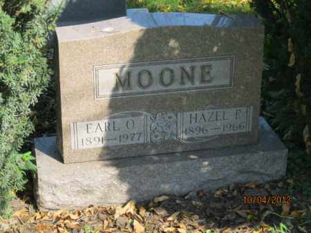 MOONE, EARL ORLANDO - Franklin County, Ohio | EARL ORLANDO MOONE - Ohio Gravestone Photos