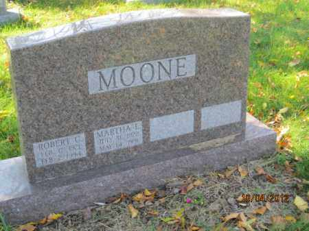 MOONE, MARTHA L - Franklin County, Ohio | MARTHA L MOONE - Ohio Gravestone Photos