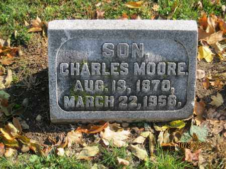 MOORE, CHARLES - Franklin County, Ohio | CHARLES MOORE - Ohio Gravestone Photos