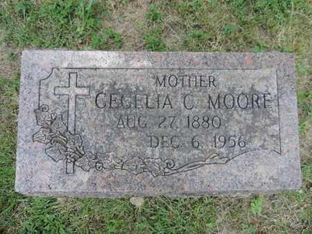 MOORE, CECELIA C. - Franklin County, Ohio | CECELIA C. MOORE - Ohio Gravestone Photos