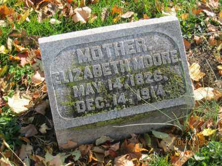 MOORE, ELIZABETH - Franklin County, Ohio | ELIZABETH MOORE - Ohio Gravestone Photos