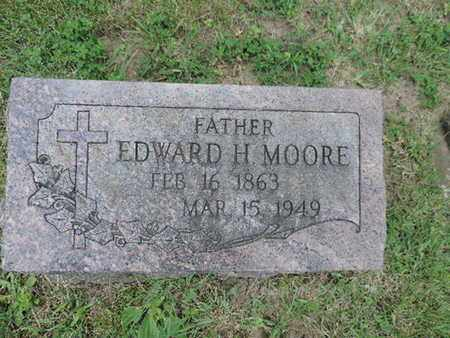 MOORE, EDWARD H - Franklin County, Ohio | EDWARD H MOORE - Ohio Gravestone Photos