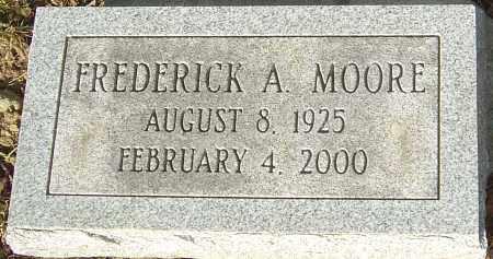 MOORE, FREDERICK A - Franklin County, Ohio | FREDERICK A MOORE - Ohio Gravestone Photos
