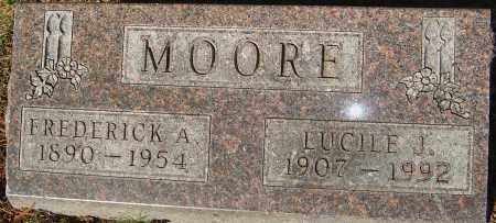MOORE, FREDERICK - Franklin County, Ohio | FREDERICK MOORE - Ohio Gravestone Photos