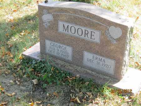 MOORE, GEORGE - Franklin County, Ohio | GEORGE MOORE - Ohio Gravestone Photos