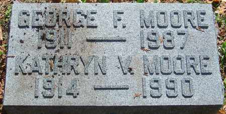 MOORE, GEORGE F - Franklin County, Ohio | GEORGE F MOORE - Ohio Gravestone Photos