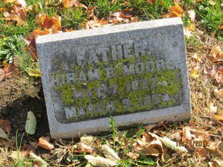 MOORE, HIRAM B - Franklin County, Ohio | HIRAM B MOORE - Ohio Gravestone Photos