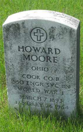 MOORE, HOWARD - Franklin County, Ohio | HOWARD MOORE - Ohio Gravestone Photos