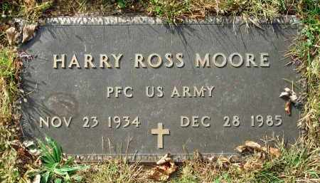 MOORE, HARRY ROSS - Franklin County, Ohio | HARRY ROSS MOORE - Ohio Gravestone Photos