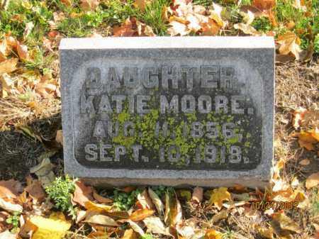 MOORE, KATIE - Franklin County, Ohio | KATIE MOORE - Ohio Gravestone Photos