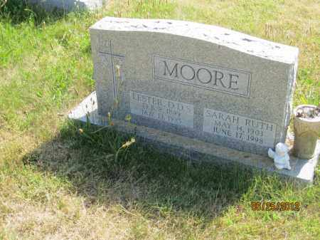MOORE, SARAH RUTH - Franklin County, Ohio | SARAH RUTH MOORE - Ohio Gravestone Photos