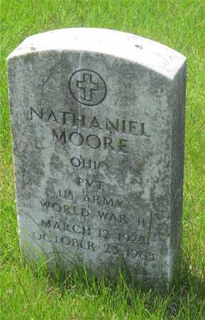 MOORE, NATHANIEL - Franklin County, Ohio | NATHANIEL MOORE - Ohio Gravestone Photos
