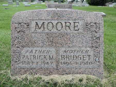 MOORE, BRIDGET - Franklin County, Ohio | BRIDGET MOORE - Ohio Gravestone Photos