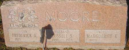 MOORE, RUSSELL S - Franklin County, Ohio | RUSSELL S MOORE - Ohio Gravestone Photos