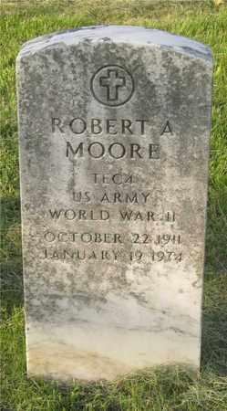 MOORE, ROBERT A. - Franklin County, Ohio | ROBERT A. MOORE - Ohio Gravestone Photos
