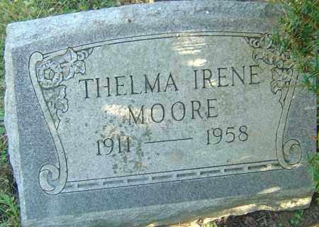 MOORE, THELMA IRENE - Franklin County, Ohio | THELMA IRENE MOORE - Ohio Gravestone Photos